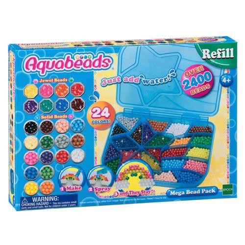 Aquabeads Maxi Nachfüllbox, 2400 Perlen