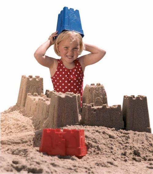 Sandburgformen Set, 6 teilig