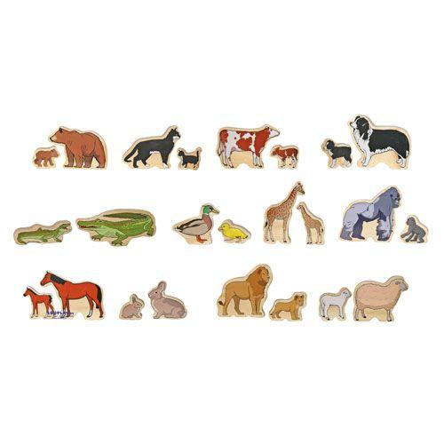 Tierfamilien