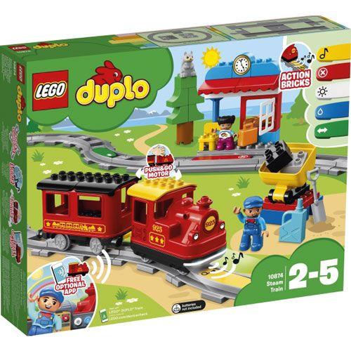 LEGO® DUPLO® Dampfeisenbahn, 59 Teile