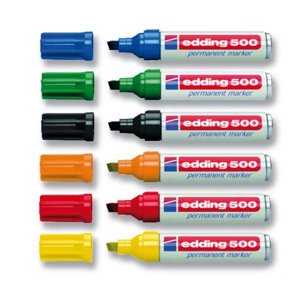 Edding E 500 (Sortiment=6Farben)