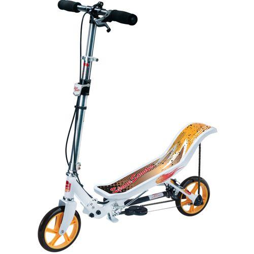 Space Scooter X580 weiß/orange