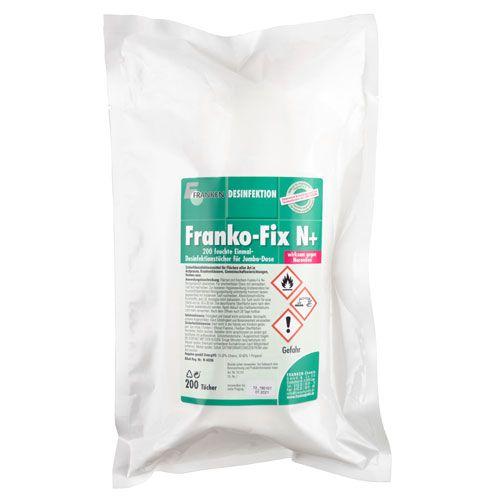 Franko- Fix N+ Jumbo Nachfüllpackung, 26 x 21 cm, 200 Tücher