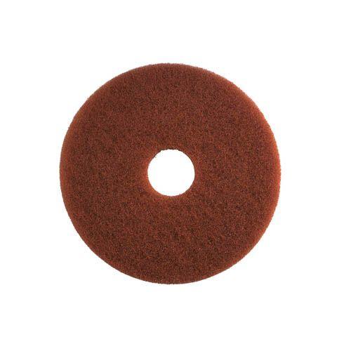 Grundreinigungs-Pad, 40,6 cm, braun