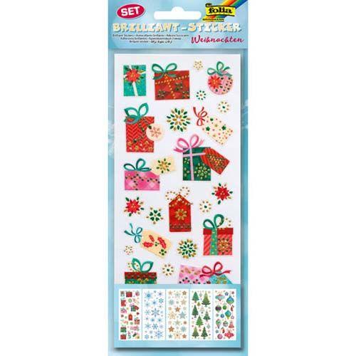 Brilliant Sticker Weihnachten, 5 Blatt
