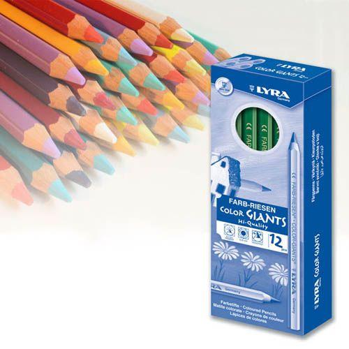 Lyra Farbriesen lackiert, 24 Farben, großes Sortiment