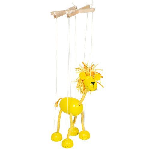 Marionette Löwe, 25,5 cm