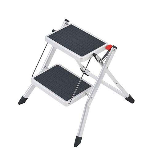 Klapptritt Mini, 2-stufig, Stahl, belastbar bis 150 kg