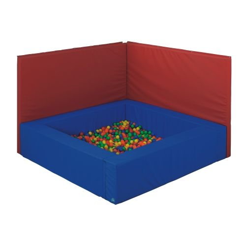 Wandaufprallschutz für Kugelbad Quadrat