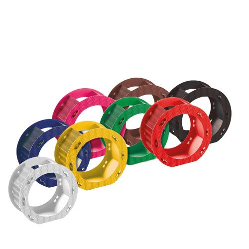 3D Laternenrohlinge, rund, 5 Stück