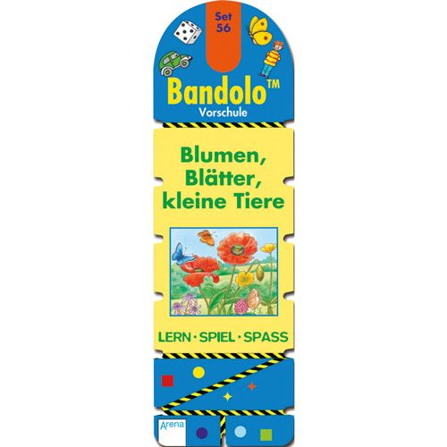 Bandolino - Set 56: Blumen, Blätter, kleine Tiere
