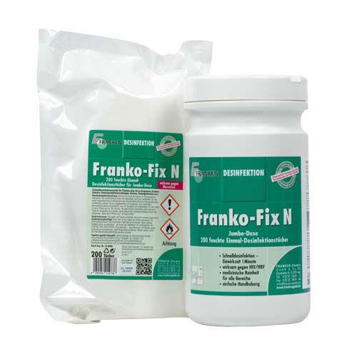 Franko- Fix N+ Jumbo Set, 26 x 21 cm, 400 Tücher