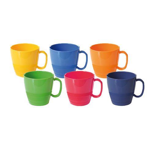 Tasse, 230 ml, 5 Stk., Einzelfarben nach Wahl