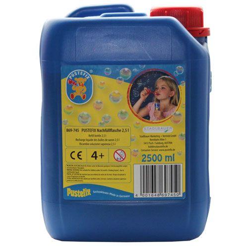 Pustefix Nachfüllflasche, 2,5 Liter