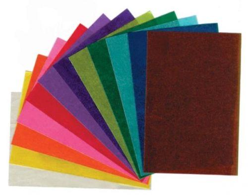 Transparent-Papier, 70 x 100cm, 120 Bogen sortiert