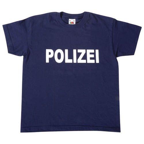 T-Shirt, Polizei, Gr. 116
