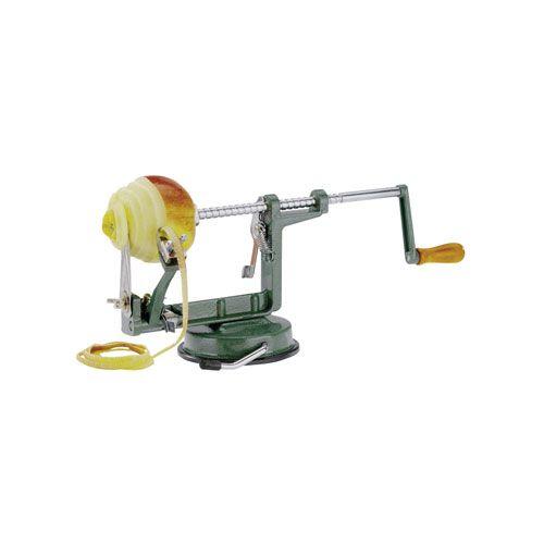 Apfel-u. Kartoffelschäler, Aluminium/Edelstahl