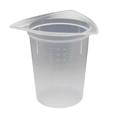 Dosier- und Messbecher, 10 - 100 ml