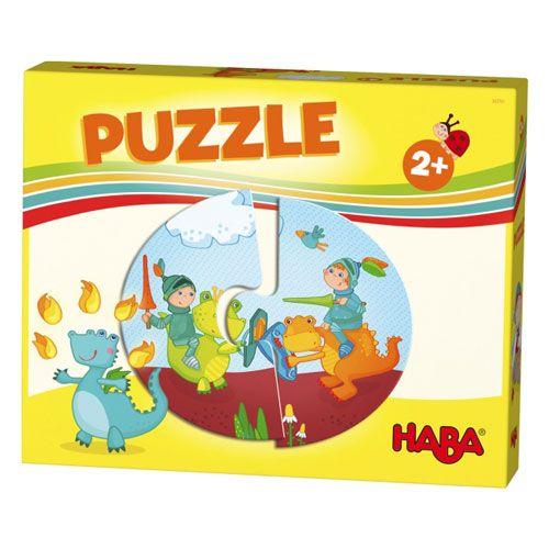 Haba-Lieblingsspiele - Puzzles Ritter und Prinzessin, 12 Teile