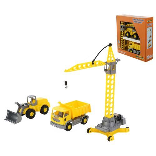 WADER Construction Baustellen Set, 3-teilig