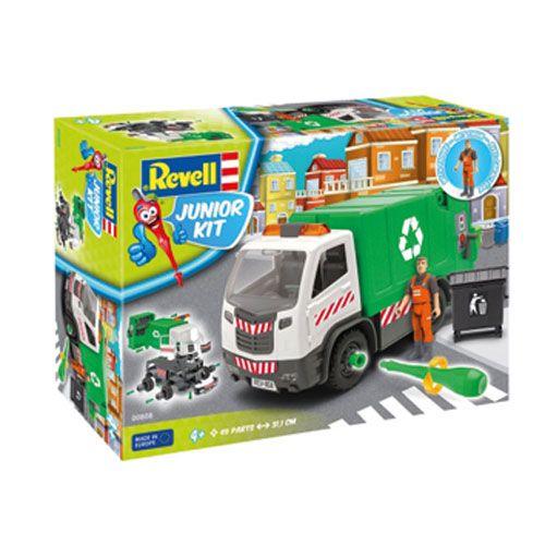 Junior Kit Müllwagen mit Figur
