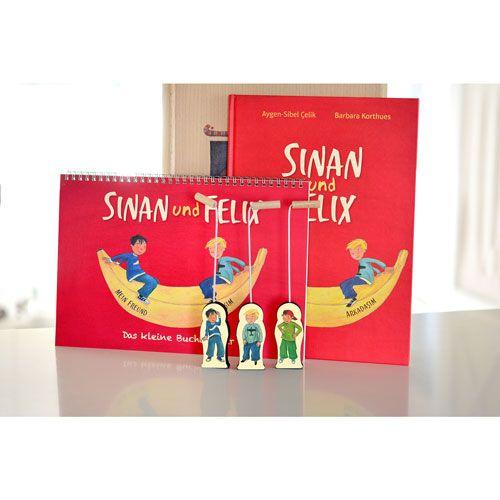 Das kleine Buchtheater - Ergänzungset Sinan und Felix