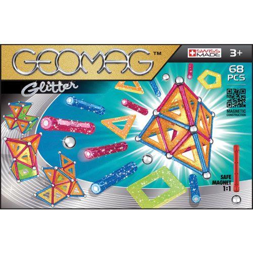 Geomag Panels Glitter, 68 Teile