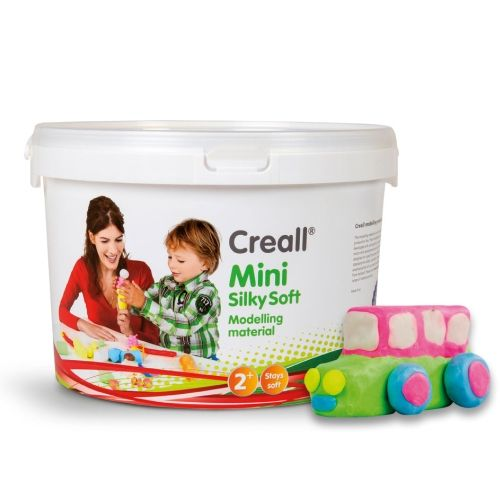 Creall Mini Supersoft Knete, 1100 g