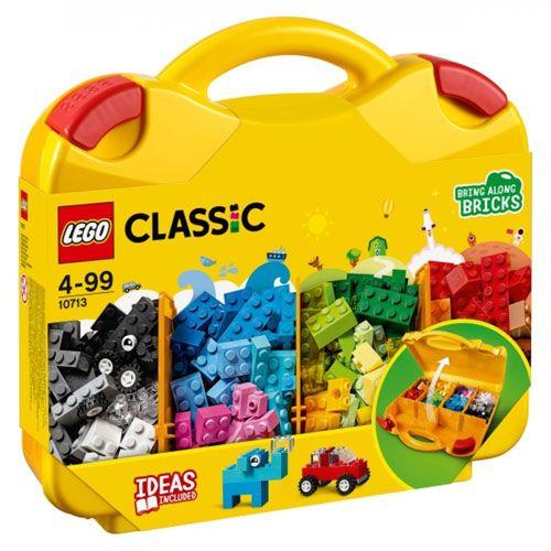 LEGO® Classic Bausteine Starterkoffer, Farben sortieren, 213 Teile