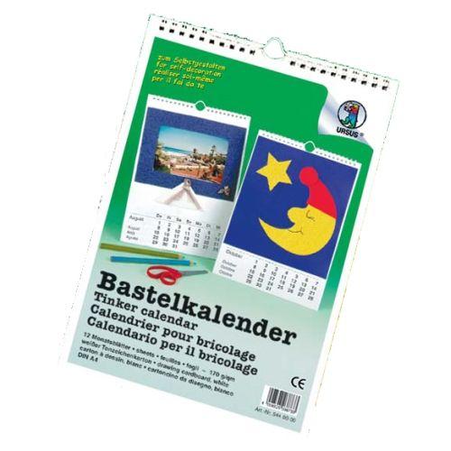 Bastelkalender, DIN A4, 10 Stk.