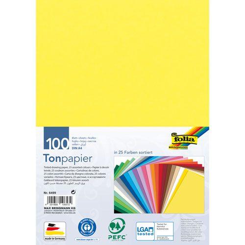 Ton-Papier, DIN A4, 100 Blatt