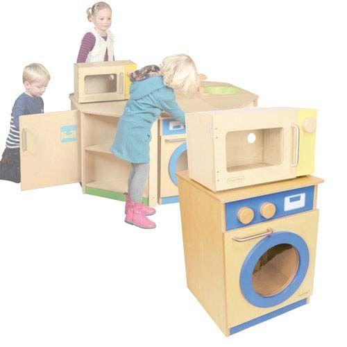 Waschmaschine für Kinderküche