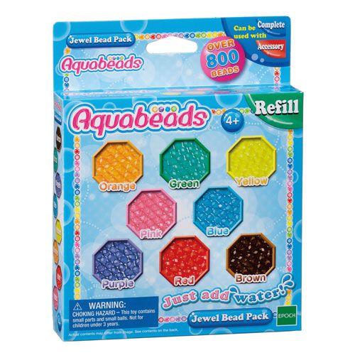 Aquabeads Nachfülpackung glitzer, 800 Perlen