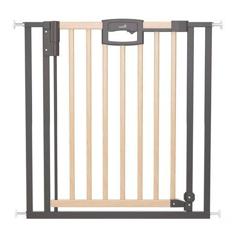 Tür- und Treppenschutzgitter Easylock Wood Plus