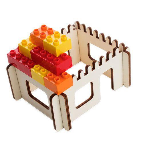3D Puzzle für Bausteine Haus
