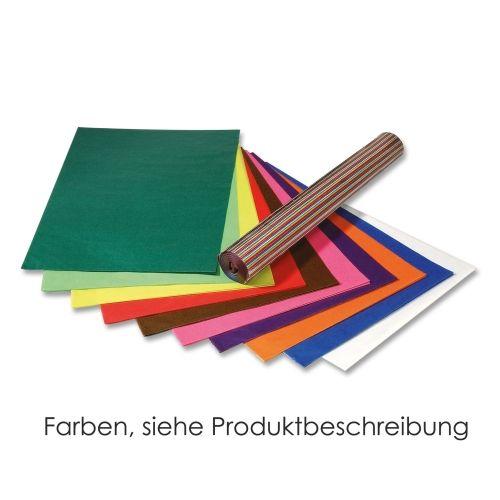 Transparent-Papier, 70 x 100 cm, 25 Bogen sortiert