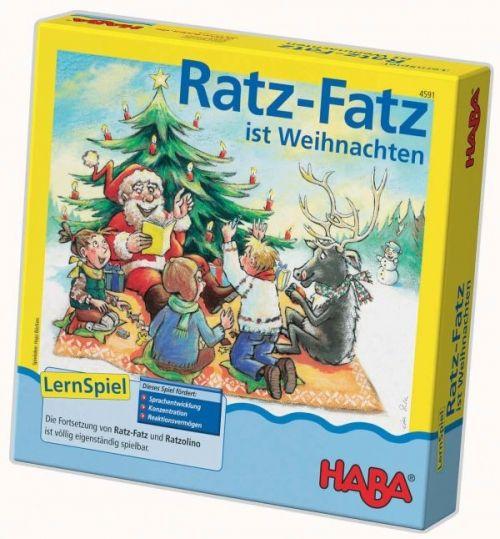 Haba, Ratz-Fatz ist Weihnachten