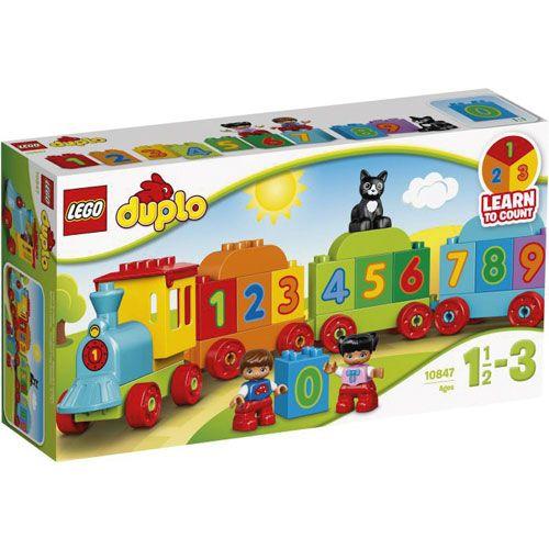 LEGO® DUPLO® Zahlenzug, 23 Teile