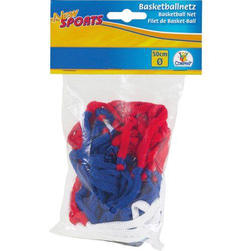 New Sports Basketball-Netz bunt, Ø 45 cm