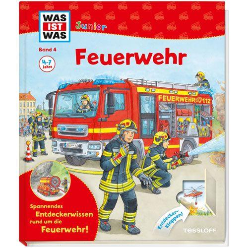 WAS IST WAS Junior, Band 4: Feuerwehr