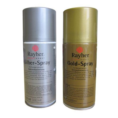 Gold- und Silber-Spray, 150 ml