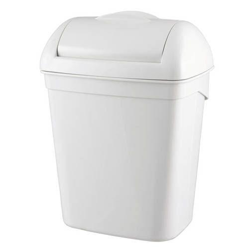 Hygiene-Abfallbehälter, 23 Liter, weiß