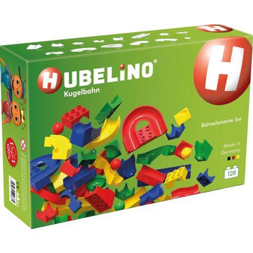 HUBELINO Bahnelemente Set, 128 teilig
