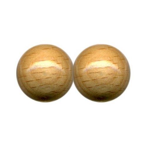 Holzperlen, Ø 16 mm, 15 Stück