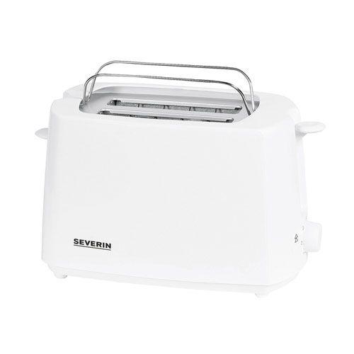 Toaster, 700 Watt, weiß