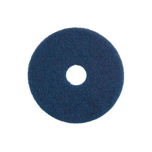 Unterhaltsreinigungs-Pad, 40,6 cm, blau