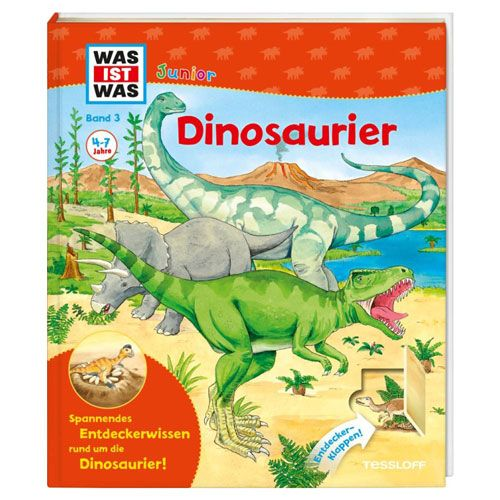 WAS IST WAS Junior, Band 3: Dinosaurier