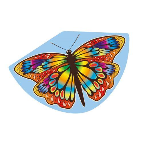 Einleinerdrachen Papillon, 92 x 62 cm