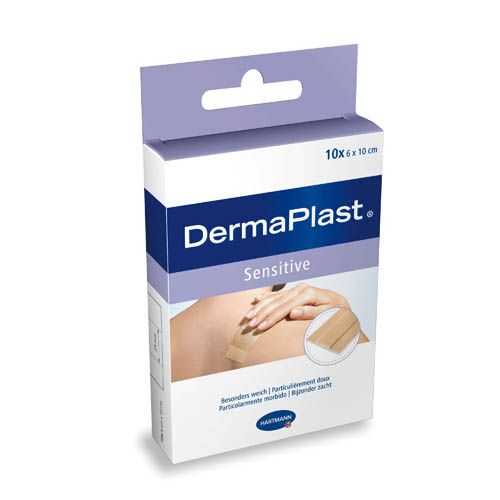 Dermaplast Sensitive, 10 x 6 cm x 10 cm