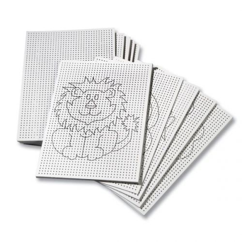 Stickkarton 300g/m², 17,5 x 24,5 cm, 40 Blatt